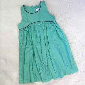 Hanna Andersson Girl Light Blue Empire Waist Dress